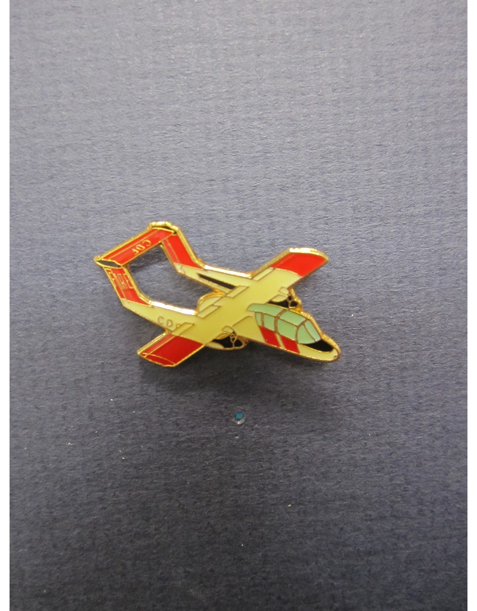 FWAM OV-10A CAL Fire, Pin, red and white