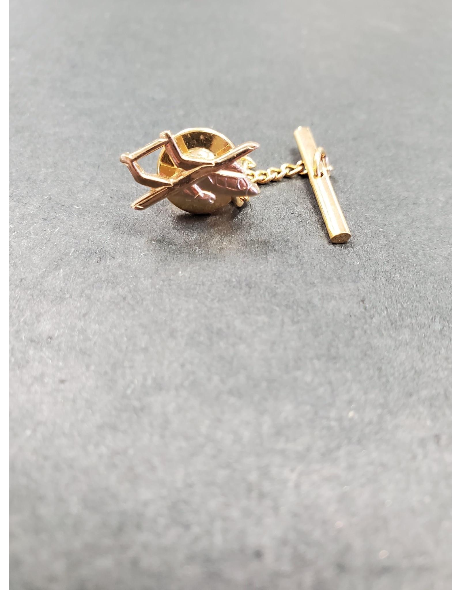 OV-10 Gold Tie Tack