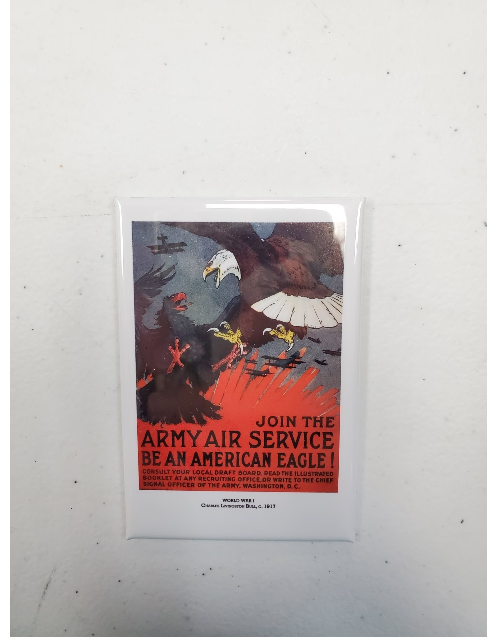 Army Air Service Propaganda Poster Magnet