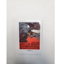 Army Air Service Propaganda Poster Magnet