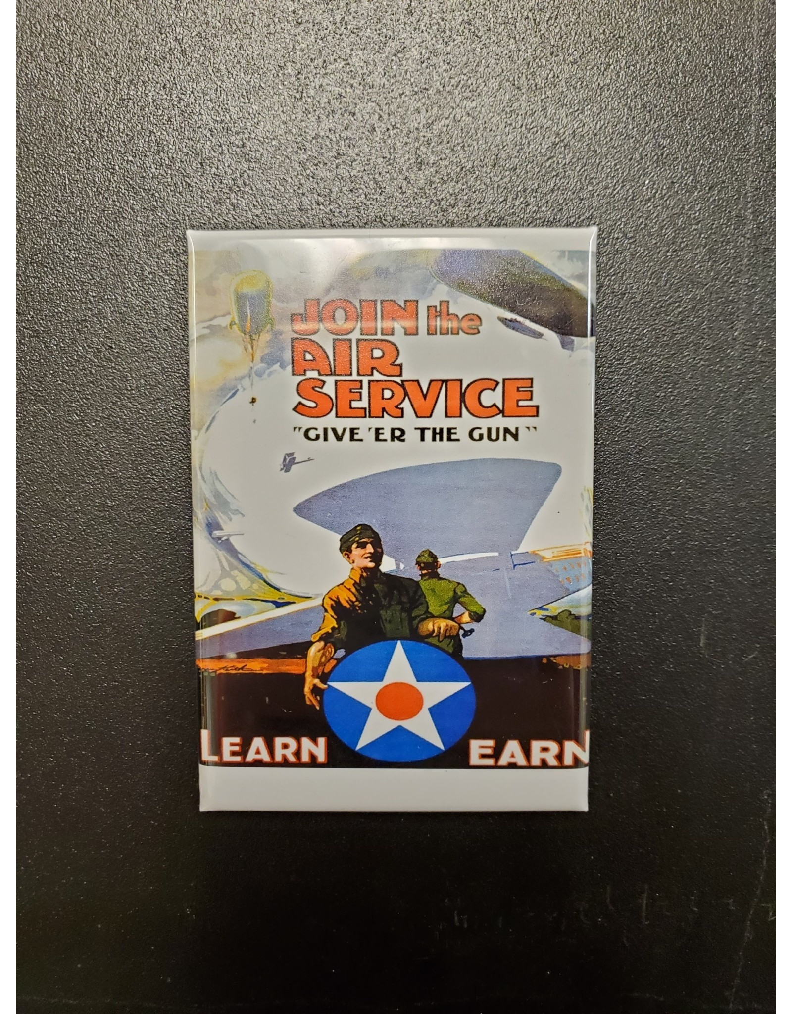 Join the Air Service Propaganda Poster Magnet