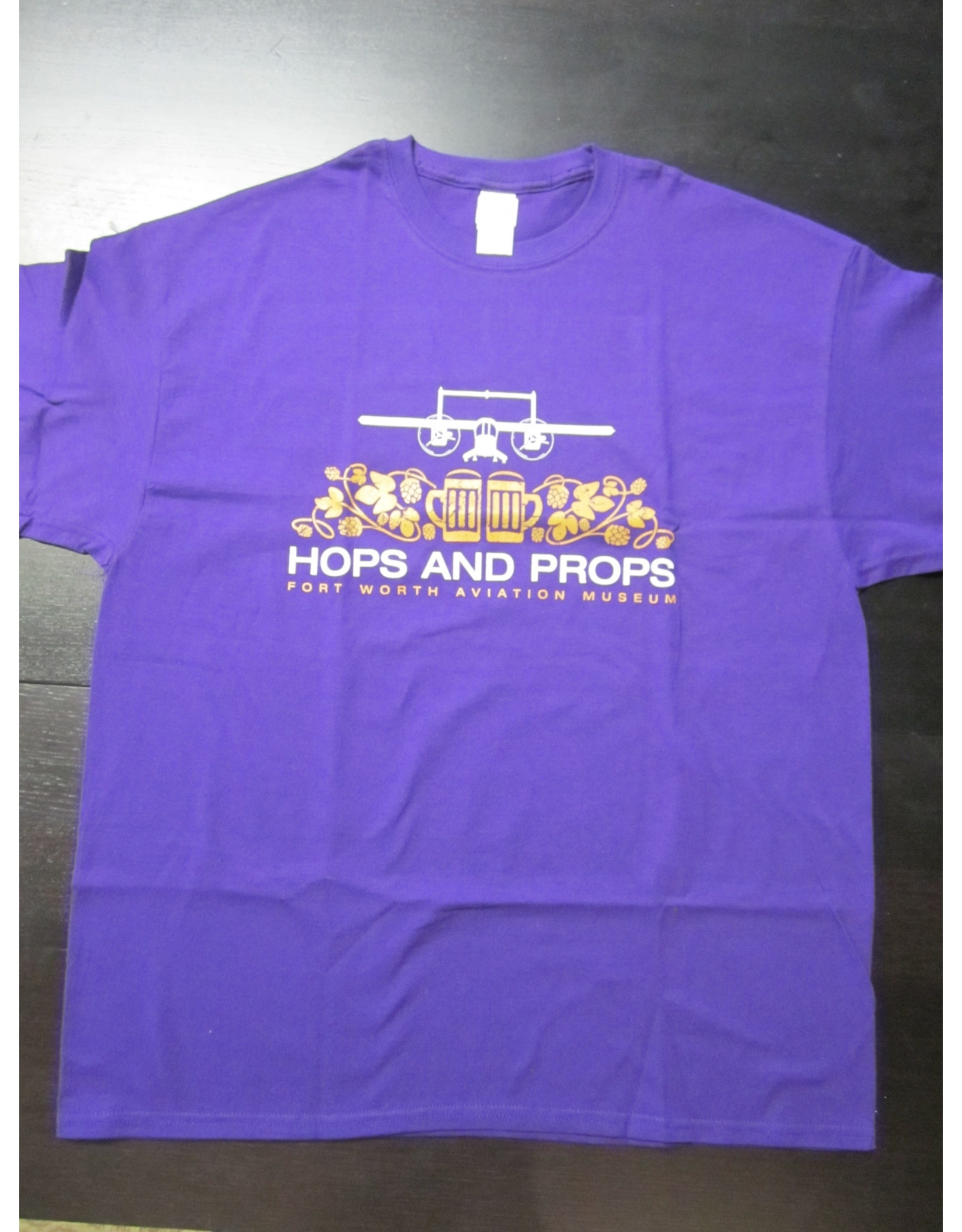 Hops and Props T-shirt Purple
