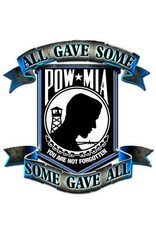 Silver/Black POW/MIA Pin