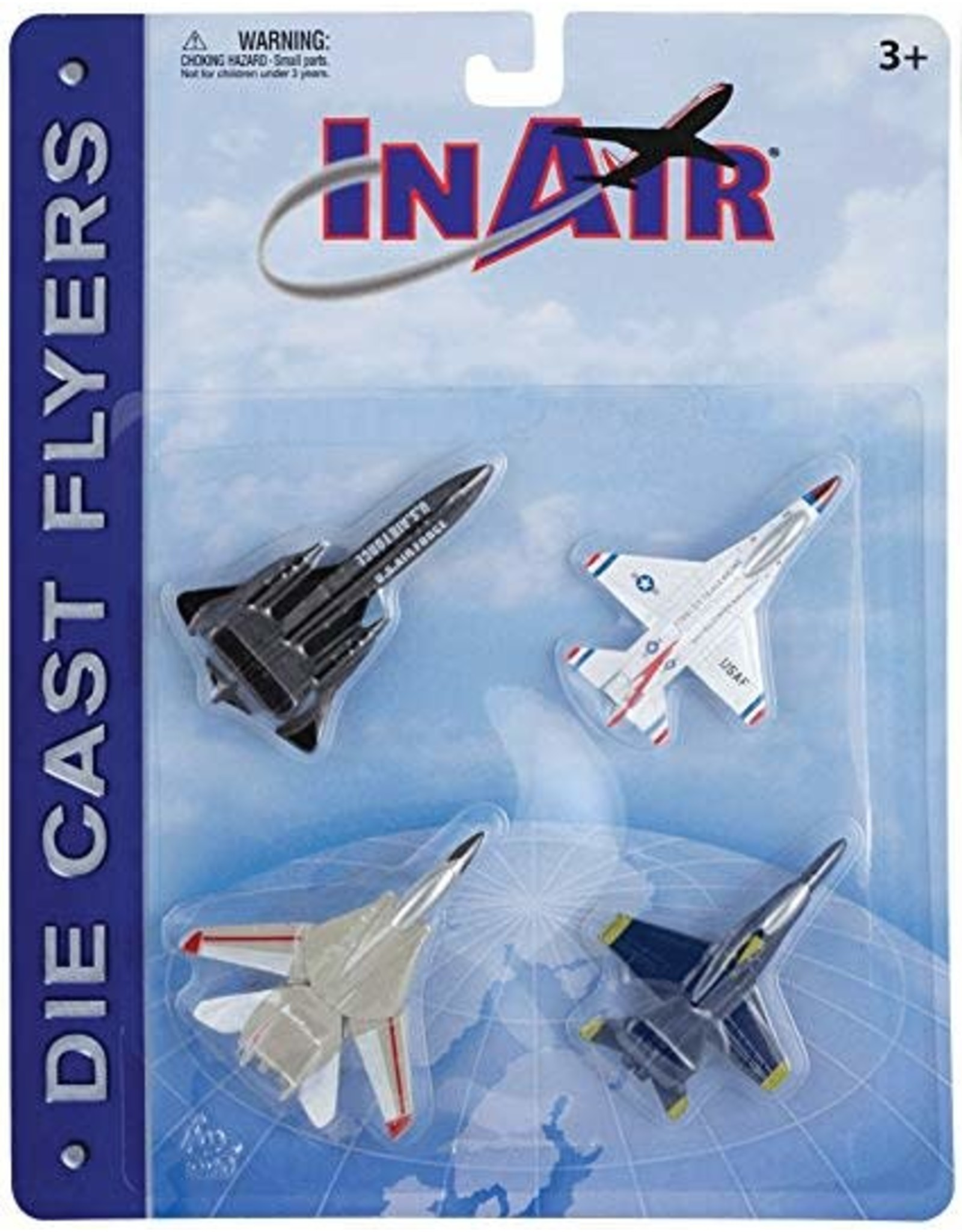 InAir Modern Jets 4pc. Card