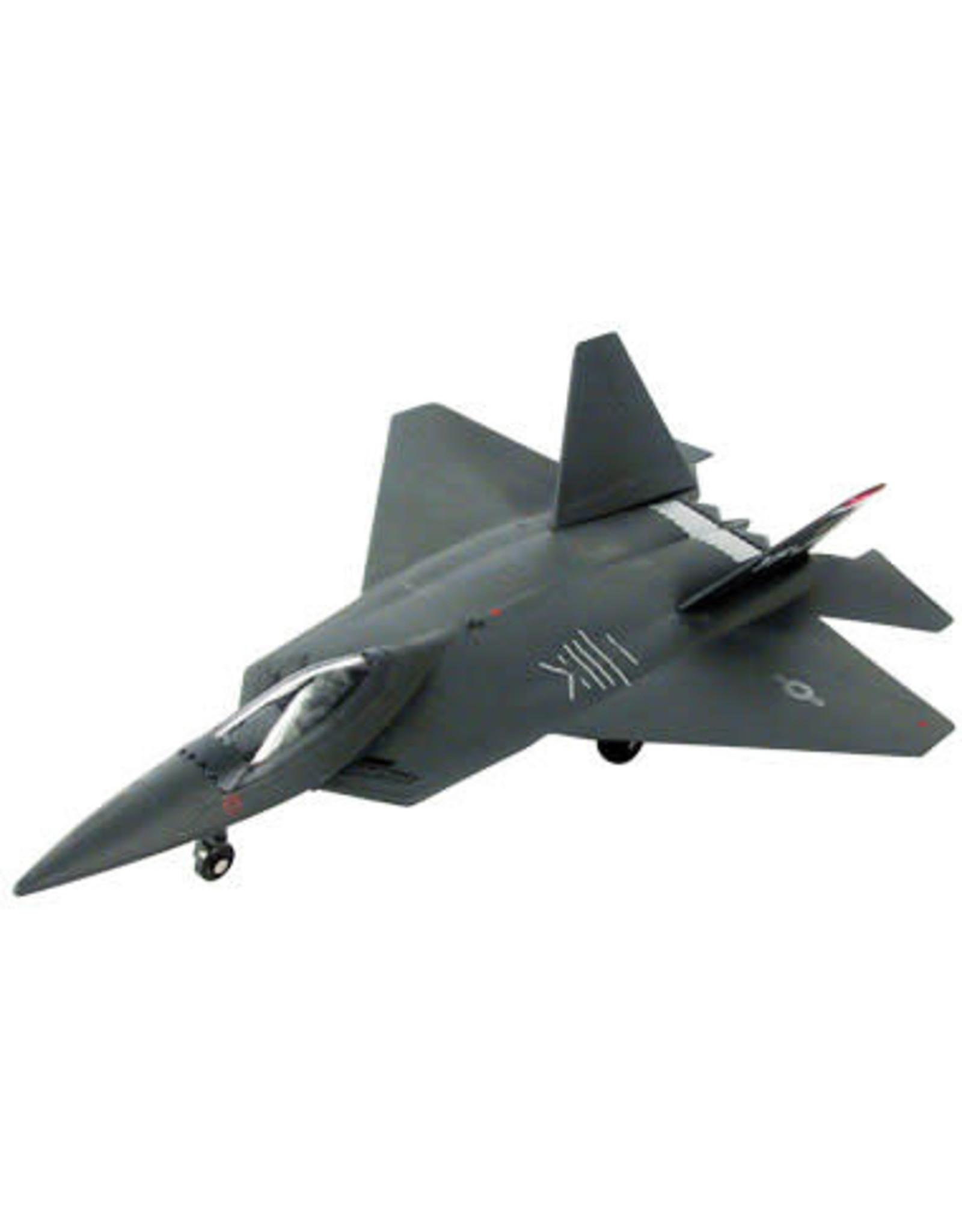 F-22 Raptor Pullback