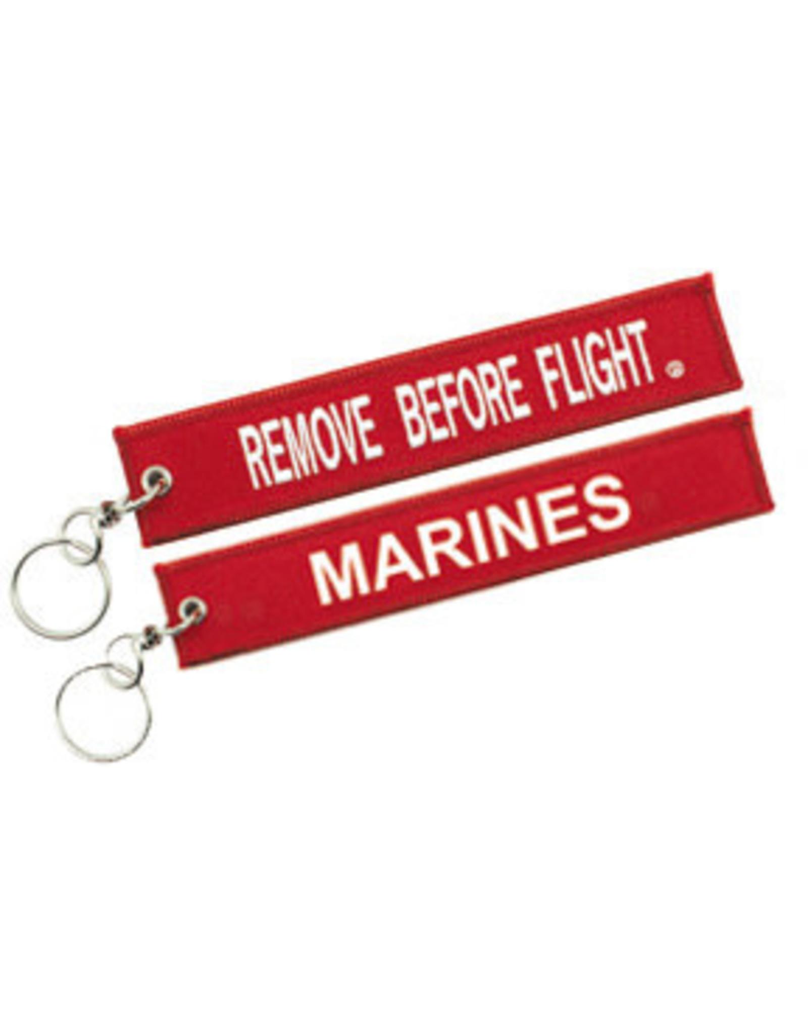 USMC Embroidered Key Chain