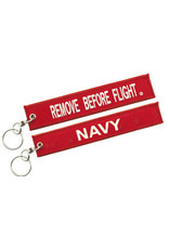 USN Embroidered Key Chain