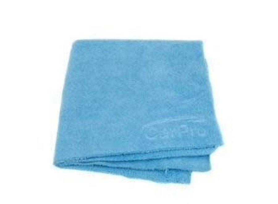 2 Face Microfiber Towel Blue