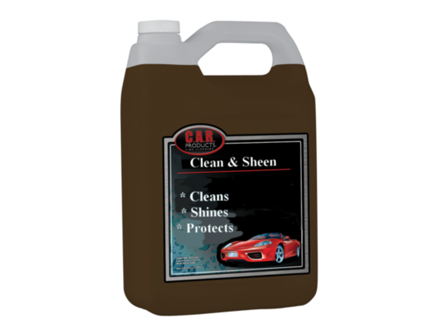 CAR Products Clean & Sheen Interior Cleaner