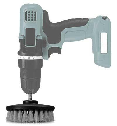 Carpet Drill Brush Example
