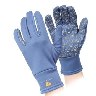 Shires Aubrion Patterson Winter Gloves in Navy Ladies X-Large Navy Riding  Gloves Equestrian robots.maytronics.co.il