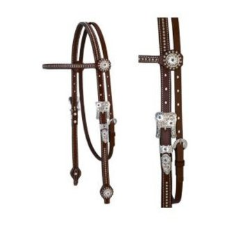 Weaver Leather Weaver Stacy Westfall Showtime Browband Headstall