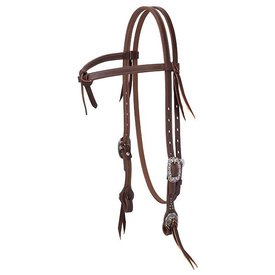 Weaver Leather Working Tack Futurity Knot Browband Headstall