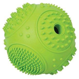 Terrain D.O.G. Rubber Treat Ball, Green Sphere