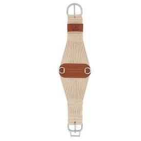 Weaver Leather Weaver Natural Blend 27 Strand Roper Smart Cinch with Roll Snug Cinch Buckle