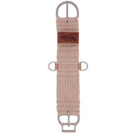 Weaver Leather Weaver Natural Blend 27 Strand Straight Smart Cinch with Roll Snug Cinch Buckle