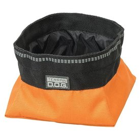 Terrain D.O.G. Collapsible Travel Bowl, Small, Orange