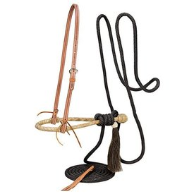 Weaver Leather Weaver Complete Mecate Set with Bosal Black