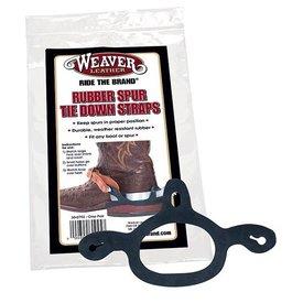 Weaver Leather Weaver Rubber Spur Tie Down Straps