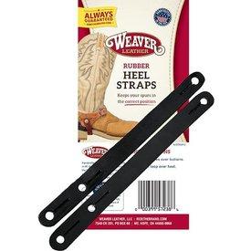 Weaver Leather Weaver Black Rubber Heel Straps