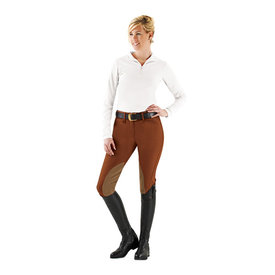 Ovation Ovation Ladies Taylored Front Zip Knee Patch Classic Breech