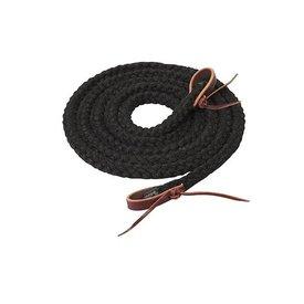 "Weaver Leather Weaver Silvertip Hollow Braid Trail Reins 5/8"" x 10'"
