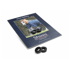 Shires Shires Spare Surcingle Rubber Rings - Pair