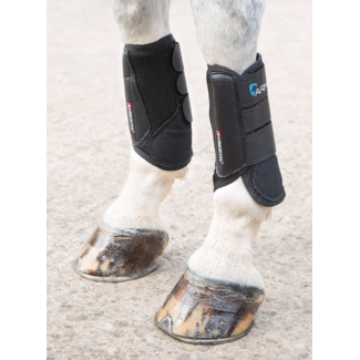 Shires Shires Arma Air Motion Black Cross Country Front Boots