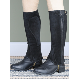 Shires Shires Moretta Adult Suede Half Chaps