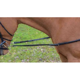 Shires Shires Avignon Leather and Elastic Side Reins