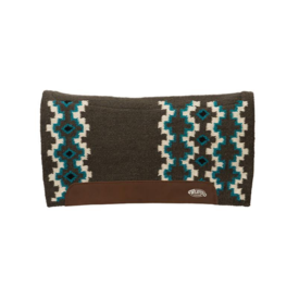 "Weaver Leather Weaver Flex Contour Wool Blend Felt Saddle Pad 3/4"" Thickness"