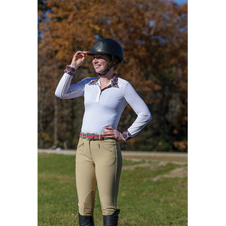 Shires Shires Equestrian Style Long Sleeve Show Shirt
