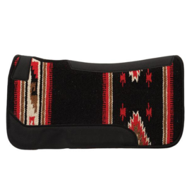 Weaver Leather Weaver Contoured Single Weave Wool Blend Felt Saddle Pad