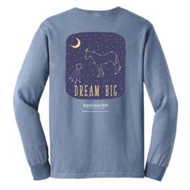 STIRRUPS CLOTHING Equestrian Prep Dream Big Adult Short Sleeve Tee