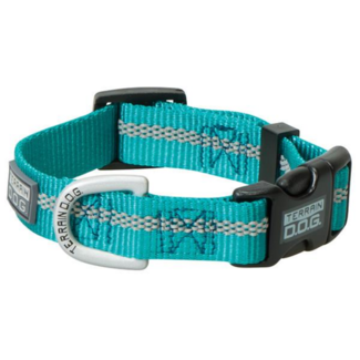Terrain D.O.G. Reflective Snap-N-Go Adjustable Nylon Dog Collar