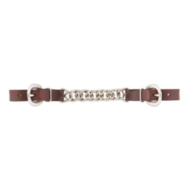 """Weaver Leather Weaver Working Cowboy 4-1/2"""" Single Link Chain Curb Strap"""