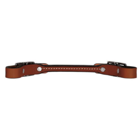Weaver Leather Weaver Bridle Leather Rounded Curb Strap, Brown
