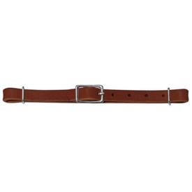 Weaver Leather Weaver Straight Bridle Leather Curb Strap Rich Brown
