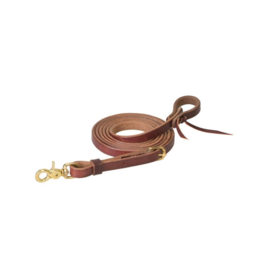 """Weaver Leather Weaver Oiled Canyon Rose Heavy Harness Roper Reins 5/8"""" x 8'"""