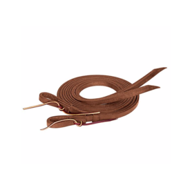 "Weaver Leather Weaver Oiled Extra Heavy Harness Split Reins 5/8"" x 8'"