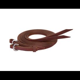 "Weaver Leather Weaver Stacy Westfall ProTack Oiled Split Reins 5/8"" x 8'"