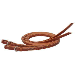 """Weaver Leather Weaver Skirting Leather Quick Change Split Reins 5/8"""" x 8'"""