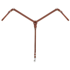 Weaver Leather Weaver Slim Ring-in-Center Breast Collar Pony