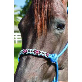Professionals Choice Professional's Choice Beaded Rope Halter