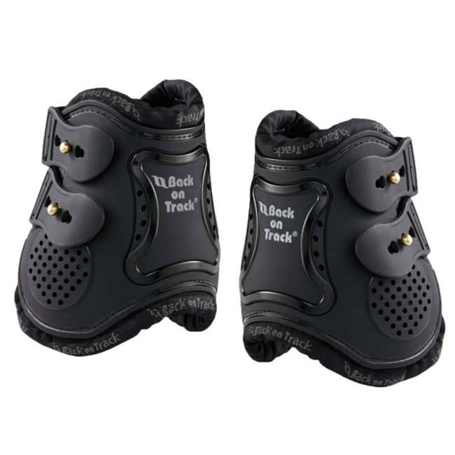 FULL BACK ON TRACK ROYAL ANKLE BOOTS HORSE BOOTS IMPROVE BLOOD CIRCULATION BLACK