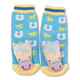 Horse Head Baby Socks