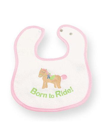 Born to Ride Baby Bib