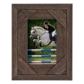 """Walnut Horseshoe Frame 8""""x10"""""""