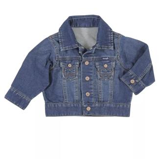 Wrangler Wrangler Toddler Boy Long Sleeve Classic Denim Jacket