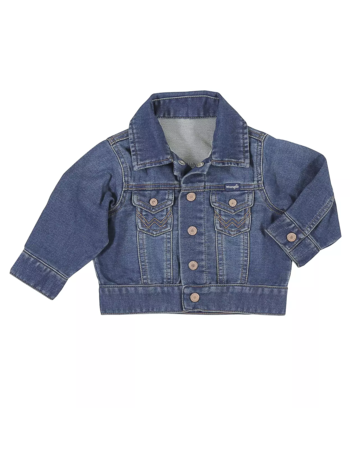 Wrangler Wrangler Toddler Boy Long Sleeve Classic Denim Jacket